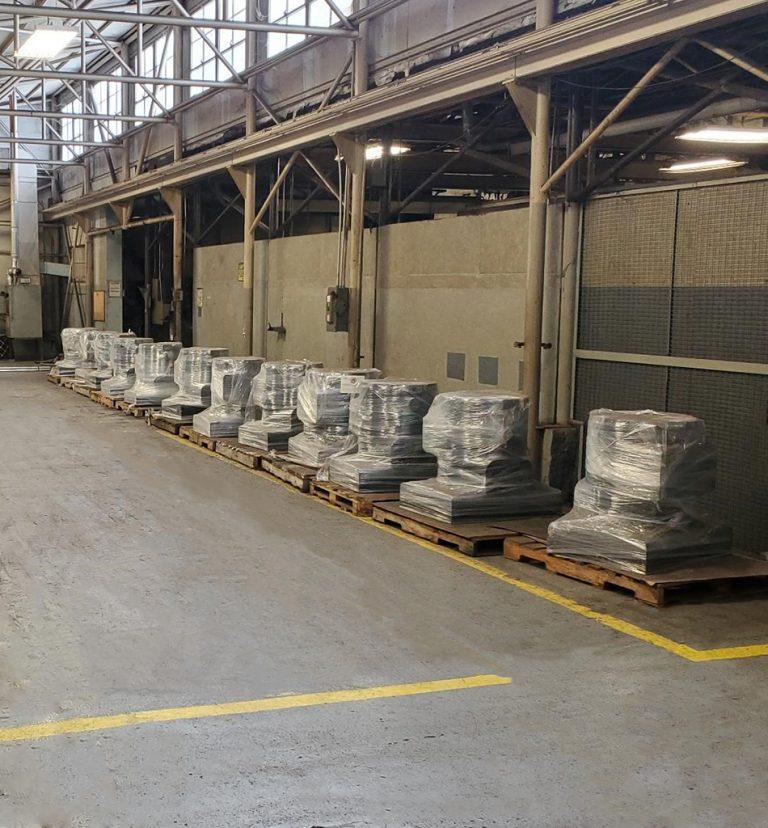 Hard Iron Plating Inventory at Ponca City Shop