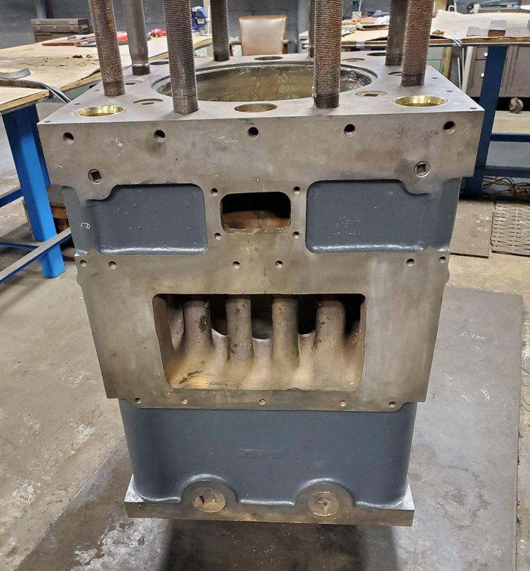 Hard Iron Plating Square Cylinder 950 x 1024